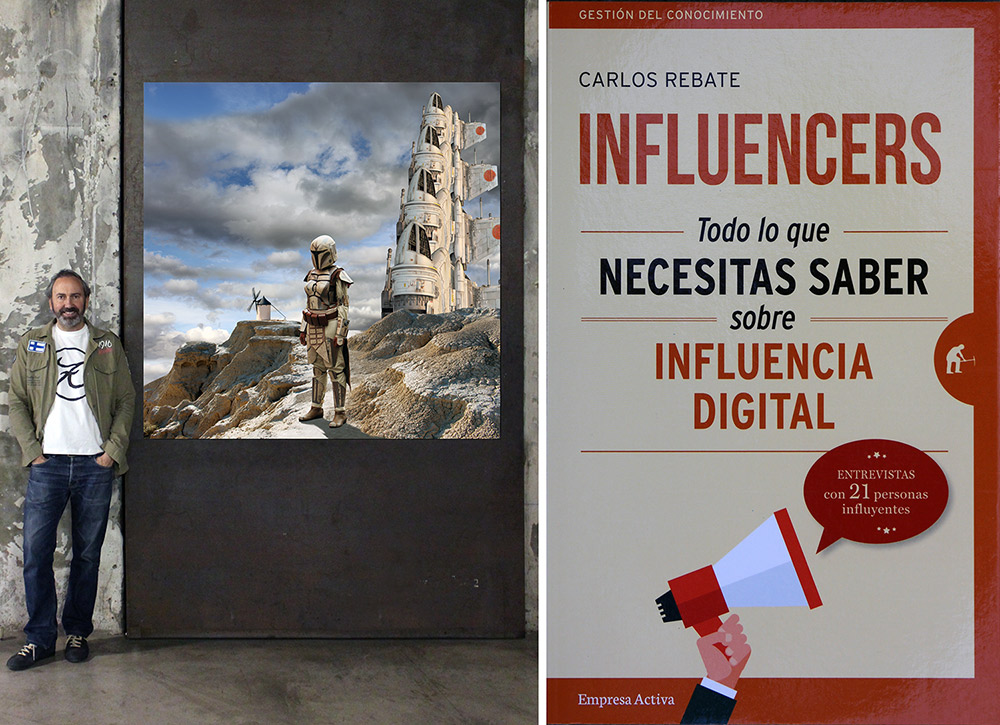 Influencers Carlos Rebate Paco Bree
