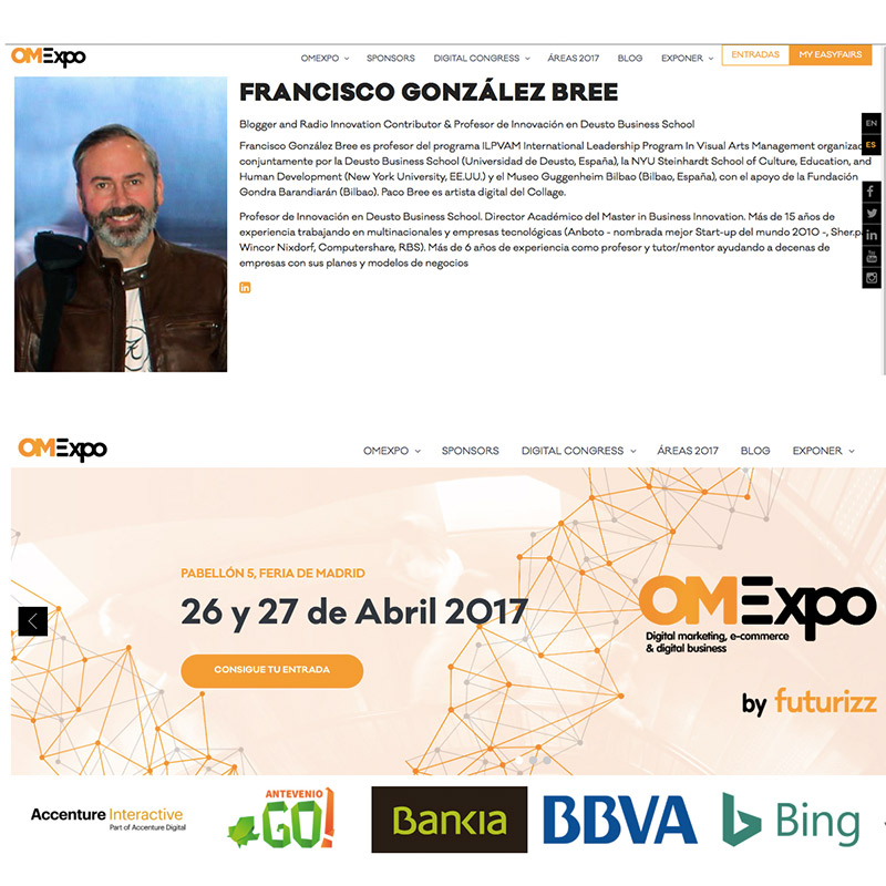 OMExpo Paco Bree