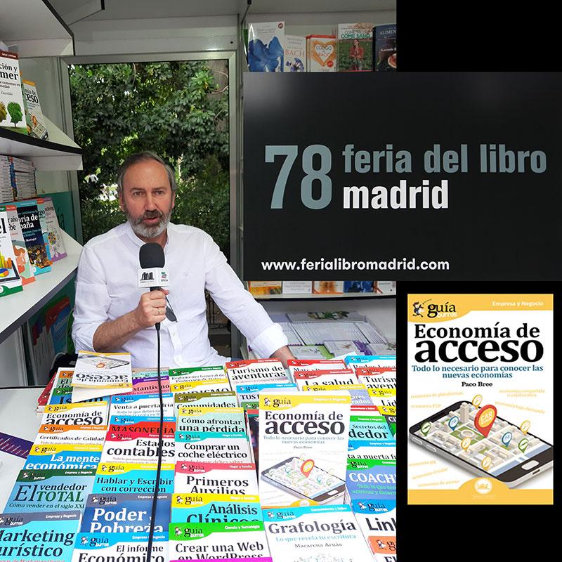 Paco Bree Feria Libro Economía Acceso