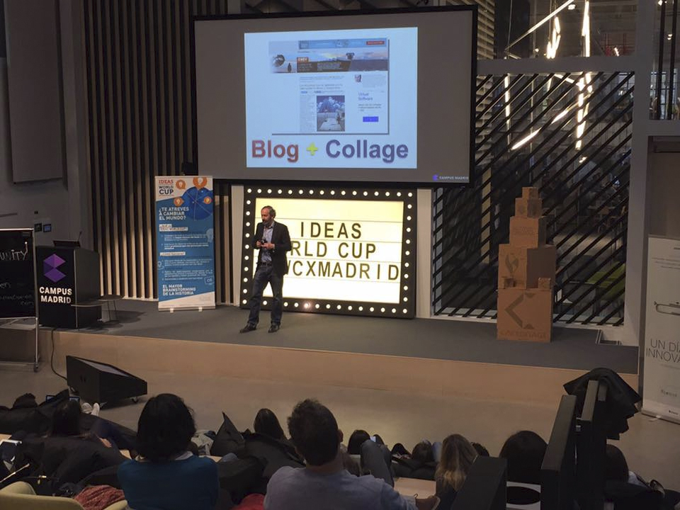 Paco Bree en Madrid Campus, 2016